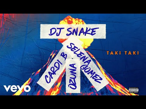 Video DJ Snake feat Selena Gomez, Ozuna & Cardi B - Taki Taki (Audio) ft. Cardi B download in MP3, 3GP, MP4, WEBM, AVI, FLV January 2017