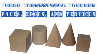 Learning about Faces, Edges, and Vertices - Three Dimensional ...