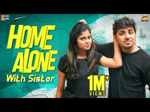 Home Alone With Sister || Narikootam || Tamada Media
