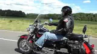 10. 2004 Kawasaki Vulcan 1500 on highway