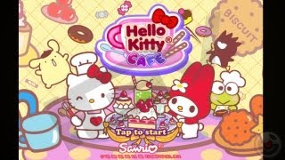 Видео в Hello Kitty Cafe