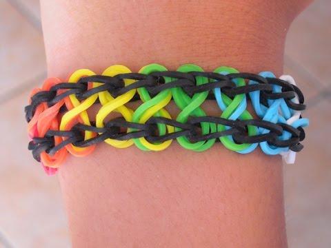 braccialetto con elastici - ecco come farlo a casa!