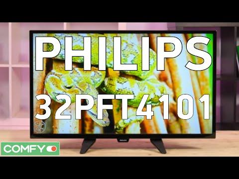 Видео Телевизор LED Philips 32PHT4101