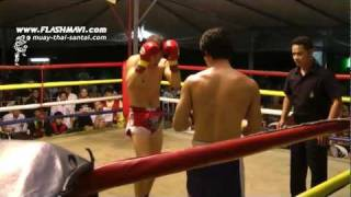Muay Thai Fight Chiang Mai - Nic Dp
