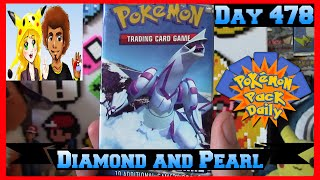 Pokemon Pack Daily Diamond and Pearl Base Booster Opening Day 478 - Featuring James&Chloe Collects by ThePokeCapital