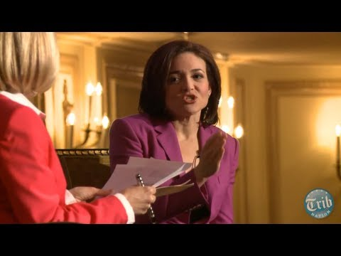 ChicagoTribune - Facebook COO Sheryl Sandberg discusses her new book,