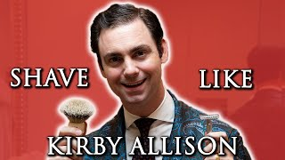 Video How to Shave Like Kirby Allison 👨💼 - Morning Routine | Wet Shaving Pro Guide MP3, 3GP, MP4, WEBM, AVI, FLV Agustus 2019