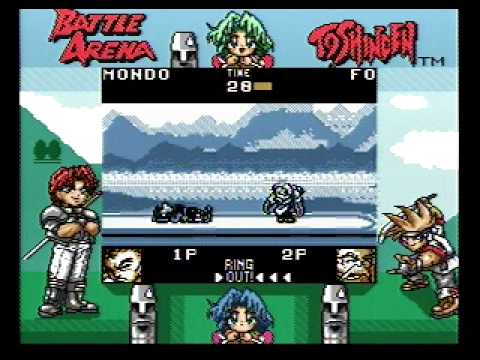 battle arena toshinden game boy color