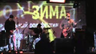 ДТ75 - Гурт української альтернативної музики полуфинал музыкального фестиваля РОК ЗИМА 2015