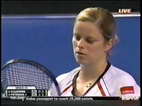 Nadia Petrova  vs Kim Clijsters