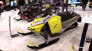 7. 2015 Ski Doo MXZ Sport 600 Ace Sled - Walkaround - 2014 Toronto ATV Show