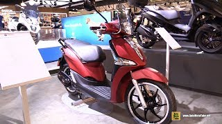 6. 2018 Piaggio Liberty 150 Scooter - Walkaround - 2017 EICMA Motorcycle Exhibition