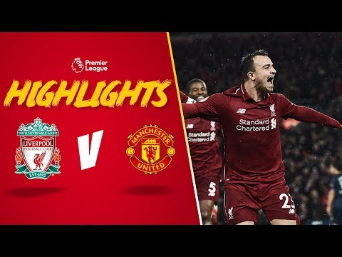 Super Sub Shaqiri Sends The Reds Top | Highlights: Liverpool 3-1 Manchester United