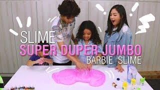 Video SLIME SUPER DUPER JUMBO BARBIE SLIME !! Bareng Babas & Roma MP3, 3GP, MP4, WEBM, AVI, FLV Agustus 2017
