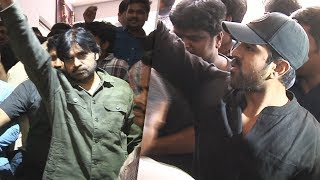 Power Star Pawan Kalyan And Ram Charan At Film Chamber