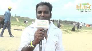 Shakthi at Madurai Mavendharkal Shooting Spot