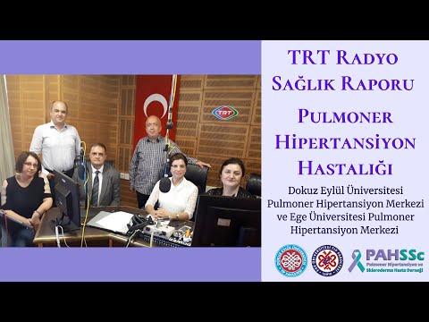 TRT Radyo - Sağlık Raporu - Pulmoner Hipertansiyon Hastalığı - 2018.11.05