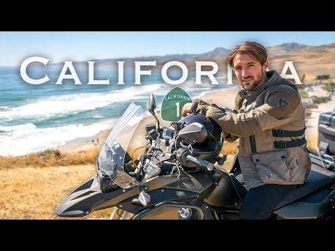 Exploring California by Motorcycle   LA to Big Sur Moto Camping (Day 2)