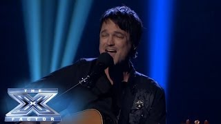 """Daniel"" Hits Home for Jeff Gutt - THE X FACTOR USA 2013"