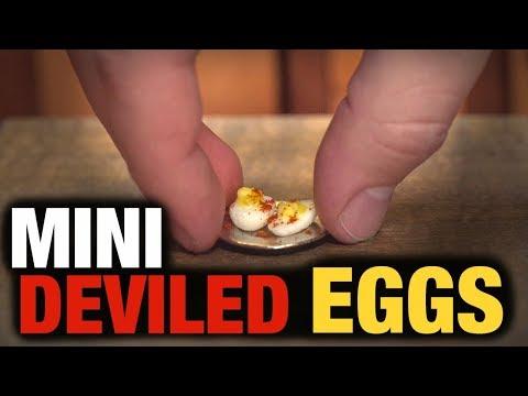 MINI DEVILED EGGS!