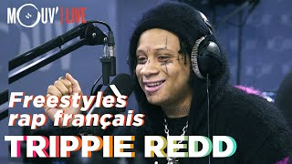 Trippie Redd freestyle sur du Ninho, Aya Nakamura, Niska, Booba... / freestyles on french rap songs