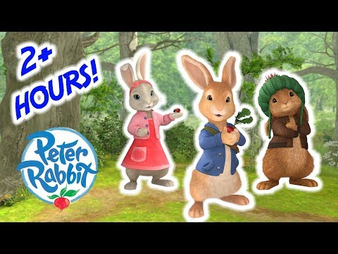 Peter Rabbit - Over 2 Hour Special Compilation!   Cartoons for Kids
