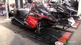 10. 2016 Yamaha SR Viper S-TX 137 DX Sled - Walkaround - 2015 Toronto Snowmobile & ATV Show