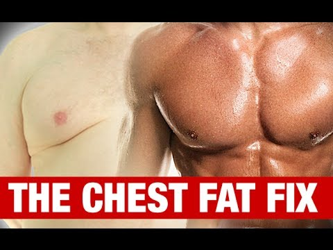 How to Get Rid of MAN BOOBS (Chest Fat Fix!) (видео)