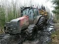Valtra reliable forestry tractor