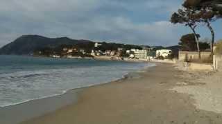 La Seyne-sur-Mer France  city photo : La Seyne sur Mer la plage Les Sablettes Mars 2013