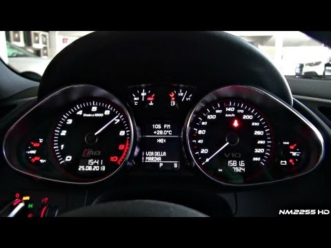 2014 Audi R8 V10 S-Tronic in Action – Start, Revs and Driving Scenes!