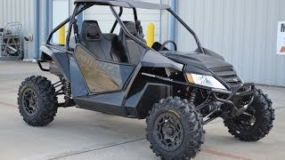 8. 2014 Arctic Cat Wildcat X Limited Matte Black  with  Elka Suspension!  Overview and Review   $20,399