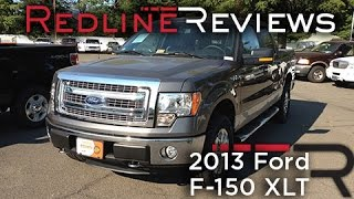 2013 Ford F-150 XLT Review, Walkaround, Exhaust, Test Drive