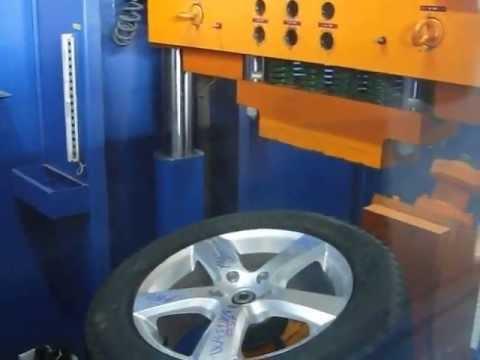 Проверка прочности диска WSP Italy W451 DHAKA на удар спицы (Volkswagen)