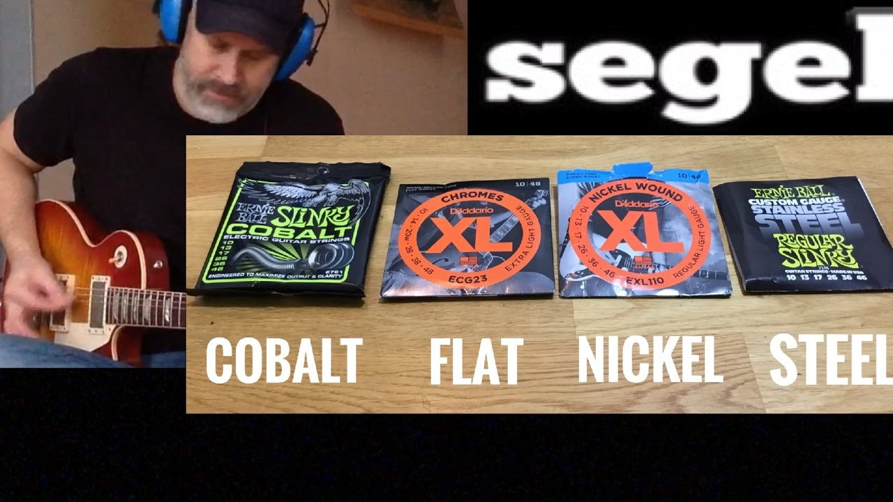 Electric Guitar Strings Comparison – Cobalt Nickel Steel etc