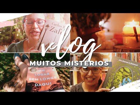 vlog de leitura 04: natureza e mistérios