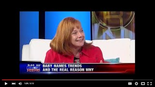 Brand Naming Expert Liz Goodgold on KUSI TV Baby Names Trends