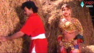 Ramya Krishna&Ramba Plan to blame Chiranjeevi ..Brahmanandam comedy.