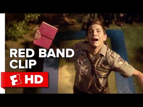 Scouts Guide to the Zombie Apocalypse Red Band CLIP - Trampoline (2015) - Movie HD