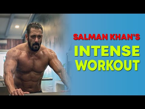 Salman Khan shares glimpses of his intense training session for Tiger 3