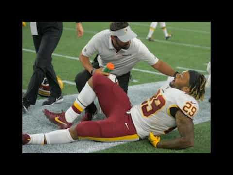 Breaking NFL News: Washington Redskins Rookie RB Derrius Guice has a torn ACL injury!