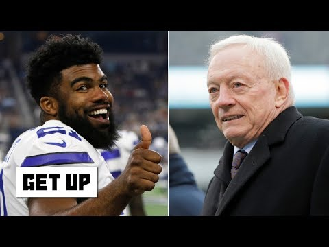 Video: Ezekiel Elliott could threaten Jerry Jones and sit out without a deal - Domonique Foxworth | Get Up