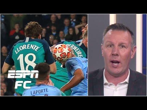 Man City vs. Spurs: 'I'm flabbergasted' by Llorente VAR review - Craig Burley | Champions League