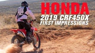 10. 2019 Honda CRF450X | First Impressions