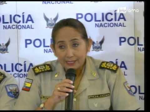 Autoridades de control presentaron resultados de operativo Destello Quiteño