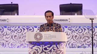 Video Pidato 'Game Of Thrones' Presiden Jokowi di Annual Meeting IMF - WBG 2018 MP3, 3GP, MP4, WEBM, AVI, FLV Oktober 2018