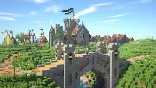 Minecraft Medieval Village: Riverhold By Burd_Lunkhurd [DONATOR SERVER]