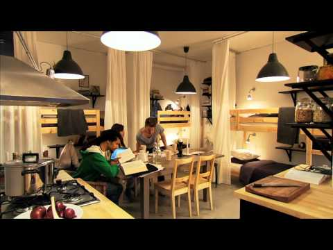 ikea - Small ideas are about finding and using hidden spaces and choosing furniture that does more than one thing. It's about being creative, a little rebellious an...