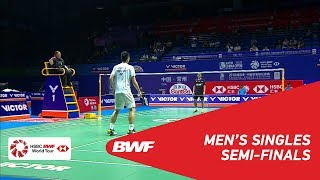 Video SF | MS | Anthony Sinisuka GINTING (INA) vs CHOU Tien Chen (TPE) [5] | BWF 2018 MP3, 3GP, MP4, WEBM, AVI, FLV September 2018