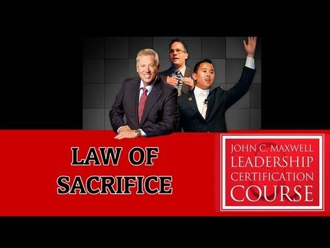 Leadership Law #18: The Law of Sacrifice- Timothy Herr